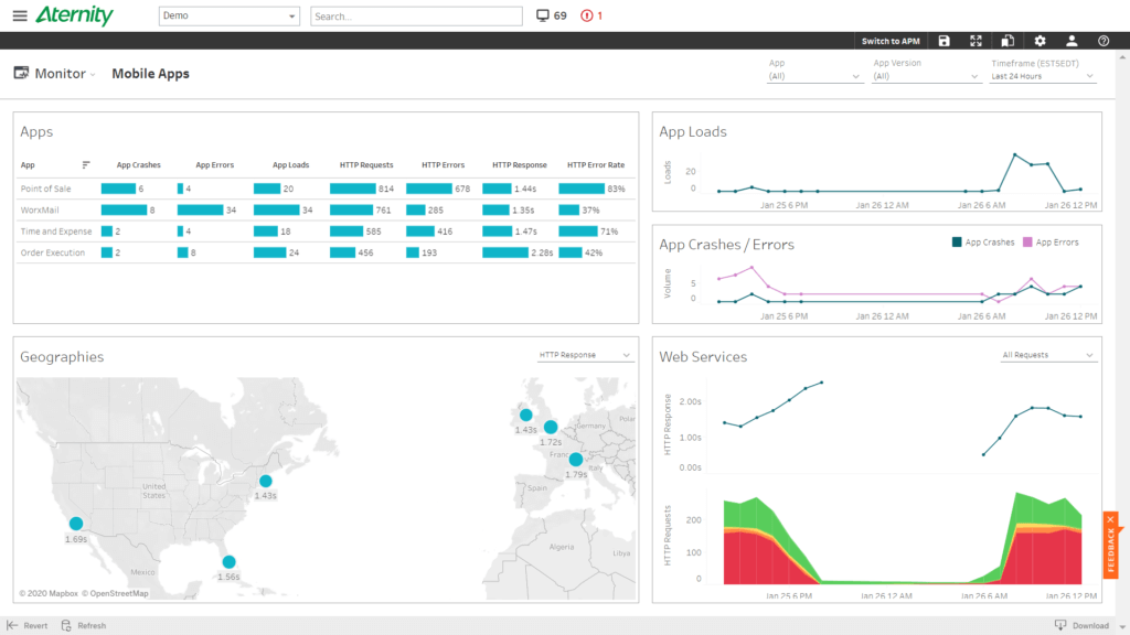 Monitor Mobile Apps, Mobile APM, BYOD
