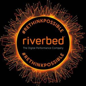 Riverbed logo AWS re:Invent